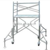 construction working platform mobile tower scaffolding ( Real Factory in Guangzhou )