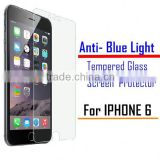 Wholesale factory Phone Protector anti blue light filtering tempered glass screen protector for iphone 6 plus