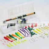 fishing rod and reel fishing set fishing tackle
