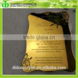 DDI-C008 Trade Assurance Hot Sales Mirror Acrylic Invitation