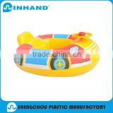 hot sale non toxic/phtalate free towable pvc inflatable car rider/ float beach water toys, inflatable floater