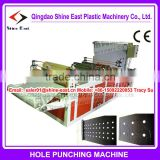New Product !! Film perforating machine / punching machine / mulch film perforate equipment