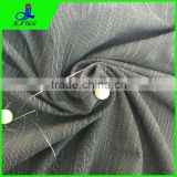 poly cotton spandex fabric with bamboo shape
