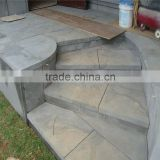 excellent outdoor natural garden basalt stepping stone,decorative garden stepping stones