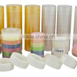 clear transparent adhesive stationery tape