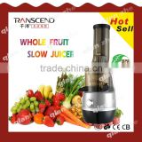 10 year motor quality guarantee manual fruit slow juicer, industrial juice extractor machine, Good quality hot sale juicer