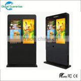 Floor standing 22inch retail ad player / lcd advertising monitor /digital poster /shelf edge ad players with global guarantee
