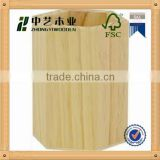 2015 china supplier hot selling wooden napkin,pencil holder for FSC&SA8000