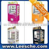 LSJQ-385 key master game machine high quality prize vending machine for sale crane claw gift machine