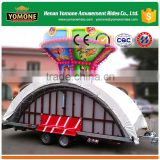 [YOMONE] New type playground amusement rides trailer mounted for sale