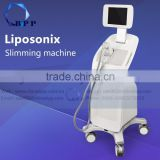 Anti-aging 2016 Popular Liposonix Hifu Loss Weigh High Frequency Esthetician Machine Ultrasound Body Shaping Machine With Water Tank 8MHz