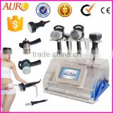 AU-46 cavitation vacuum weight loss cellulite reduce rf bipolar bio electric stimulation machine