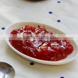 Red color canned tomato paste