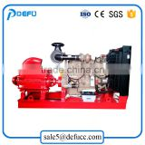 D series high pressure electric power horizontal multistage centrifugal agricultural irrigation diesel water pump