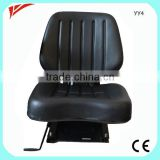 Auto seats for wheel loaders tower cranes and other earth-moving equipment