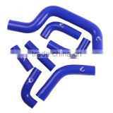 For DUCATI MONSTER S4RS Blue Silicone Radiator Hose Kit Pipe Coupler 2005 2006