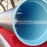 ISO2531 BS EN545 water pressure test ductile iron pipes