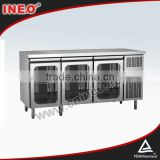 304 Stainless Steel Small Electric Refrigerator/General Electric Refrigerator/Glass Door Mini Refrigerator