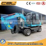 CBL-75 hydrualic wheel excavator for sale