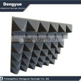 "Pyramid acoustic foam with size of 20""*20""*2"" used in a production studio build both audio and video"