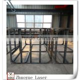 China supplier customized stainless steel square tube metal frames, steel frame, steel structures