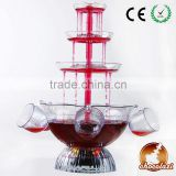 CHOCOLAZI ANT-8010 3 tiers Plastic Home Wine Fountain Plastic Cocktail Fountain