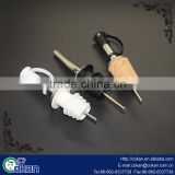 CK-KT695 Hot Selling Food Grade Plastic/Metal Champagne pourer /Wine Bottle Pourer For Wine, Cocktail, Vodka