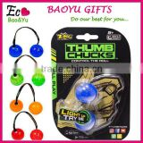 New Fidget Toys Begleri Thumb Chucks Finger Yoyo Anti Stress Toy yoyo Ball Glow In The Dark