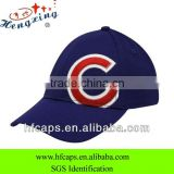 2013 ladies and mens blue 6 panels custom applique letter 3D embroidery baseball caps and hats