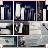Wholesale Biodegradable Plastic Dinner Flatware Sets for Airlines Economic Class