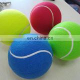 8.5inch Rubber Tennis Ball For kids Toy Promotion