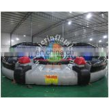 Air bots jousting game inflatable jousting arena