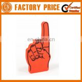 Popular Giant Cheering Eva Sponge Cheer Hand Custom Logo Printed Foam Hand