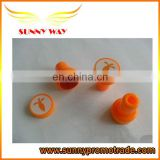 promotional lovely plastic stamps for kids