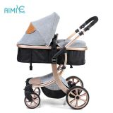 2018 Golden Foldable High Landscape Pram China Factory