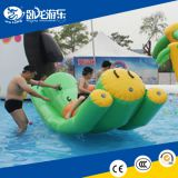 Inflatable water seesaw rocker game,water park swimming pool game,floating water games