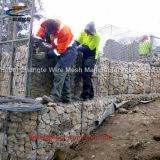 Hot - Dipped Galvanized Welded Gabion Box High Toughness Long Service Life