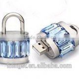 Fashion design 8gb crystal usb flash drive for promotion gifts