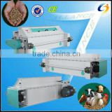 China Leading supplier manufacturer double & 3 rollers animal feed roller crusher/crumbling machine for feed pelletizing line