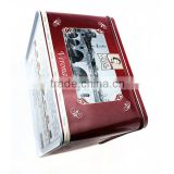cookie tin box packaging,comestic tin box,cookie tin box for wedding