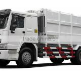 High Working Efficiency Howo 4x2 10 tons Compactor Garbage Truck Or Compactor Garbage Vehicle for sale