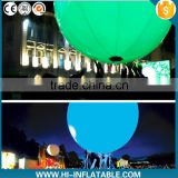 hot sell inflatable zygote interactive crowed balls / zygote party balloon can change color for party