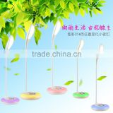Rechargeable LED Table light JK-848 Color changing led table lamps with 3-grade brightness touch dimmer