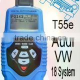 OBD2/OBDII CAN Code Reader 3in1 Professional VAG Scan Tool T55 For VW&Audi