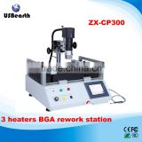bga rework equipment with 3 heaters BGA rework station ZX-CP300 touch screen pcb repair station