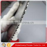 255mm high performance acrylic cutting disc blade saw blade for profled plastic