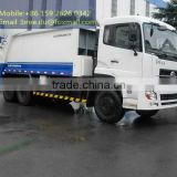 China famous Waste truck with compactor