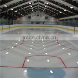 skating rink plastic board/hdpe componet ice skating rink barrier/ice rink barriers for arena ice rink system