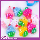 Lovely kawaii mushroom 18*16mm resin cabochon charm for The Children's Day gift,hair crafts