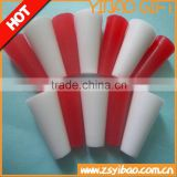 Custom high density industrial silicone rubber stopper with hole